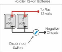 rv 12 volt trailer wiring diagram rv electricity installing a battery disconnect for multi battery  rv electricity installing a battery