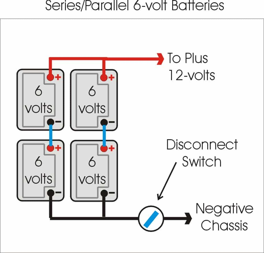 Generatorwiring Diagram2 12 Volt Batteries With One Positive Goes