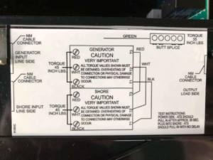 RV Electricity – Tighten those transfer switch terminals carefully