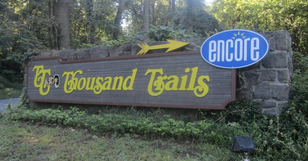 thousand trails sign