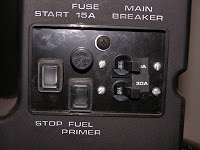 Why won't RV's AC work on generator power?
