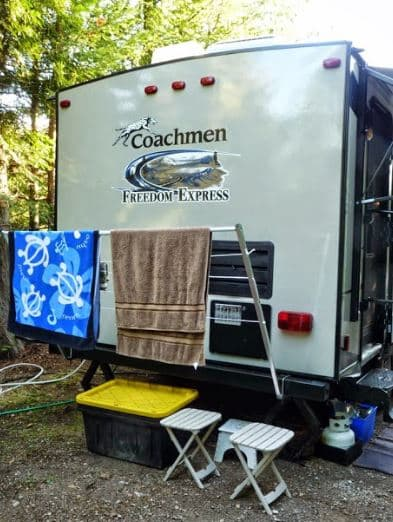 RV Electricity – Electric residential clothes dryers in RVs