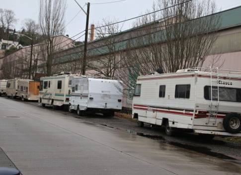 What to do about homeless RV dwellers: Seattle has a plan