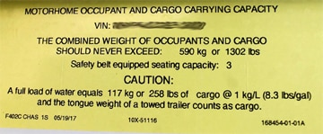 RV shopping? Watch for the dreaded low-end CCC sticker