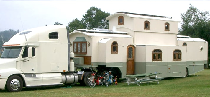 This may be the biggest travel trailer you'll ever see!