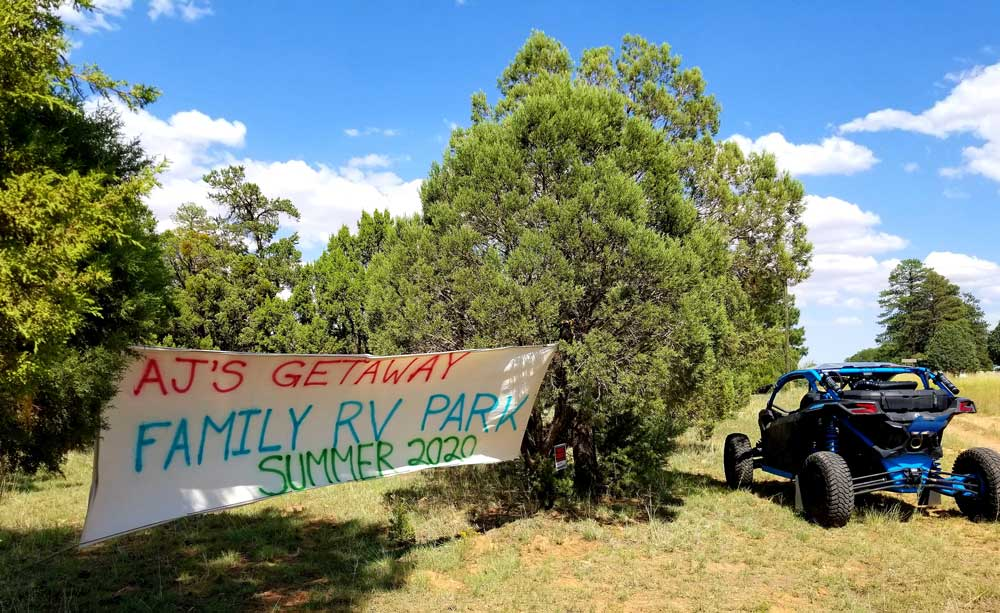 Building an RV park from scratch:  We had a party! And an update on park plans