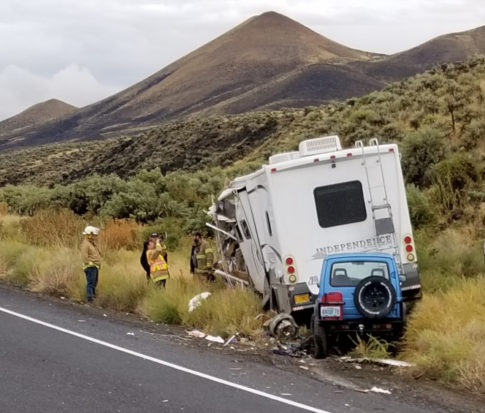 Head on RV crash