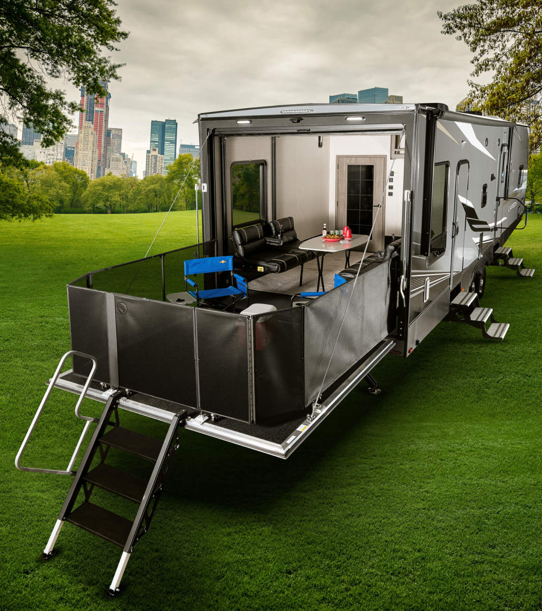 Keystone Carbon toy haulers offer new travel trailer options