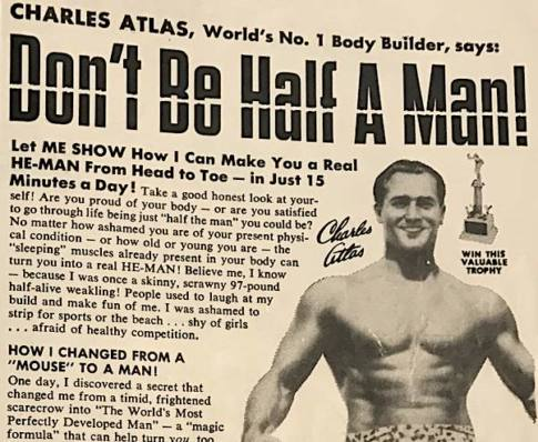 Be a HE-MAN in just 15 minutes a day