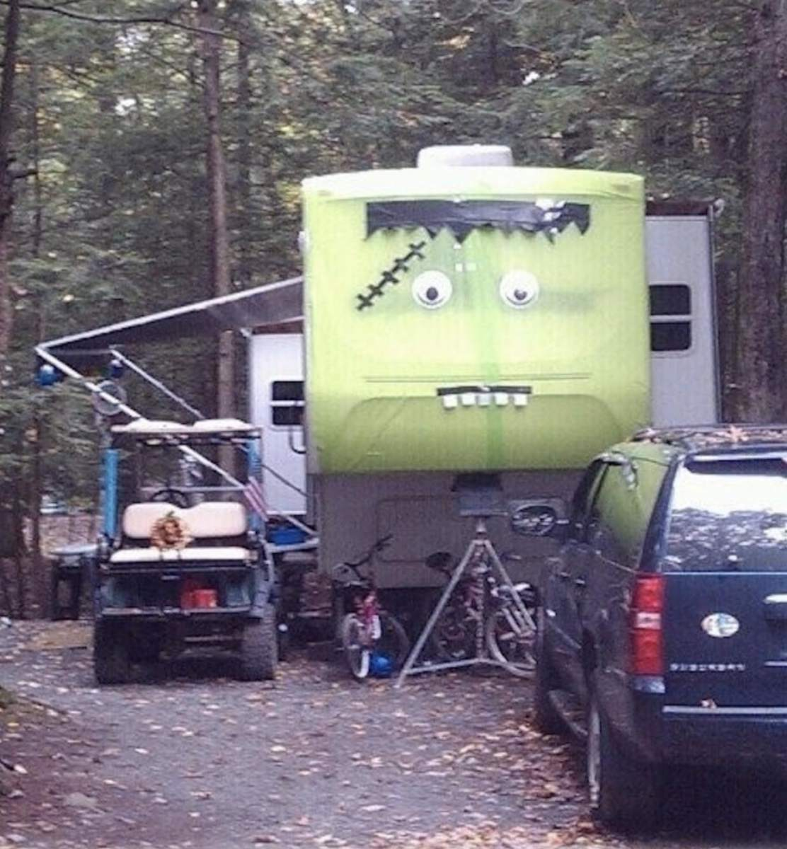 Oh my gourd! These Halloween RVs are too cute to spook