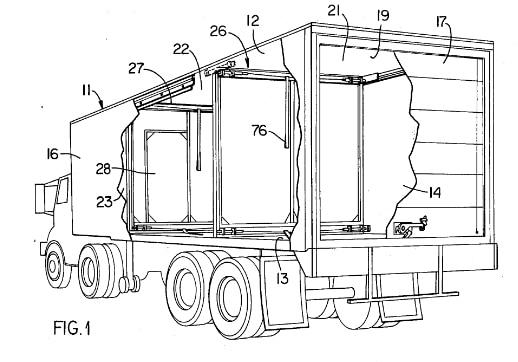 New RV design: moveable interior walls?