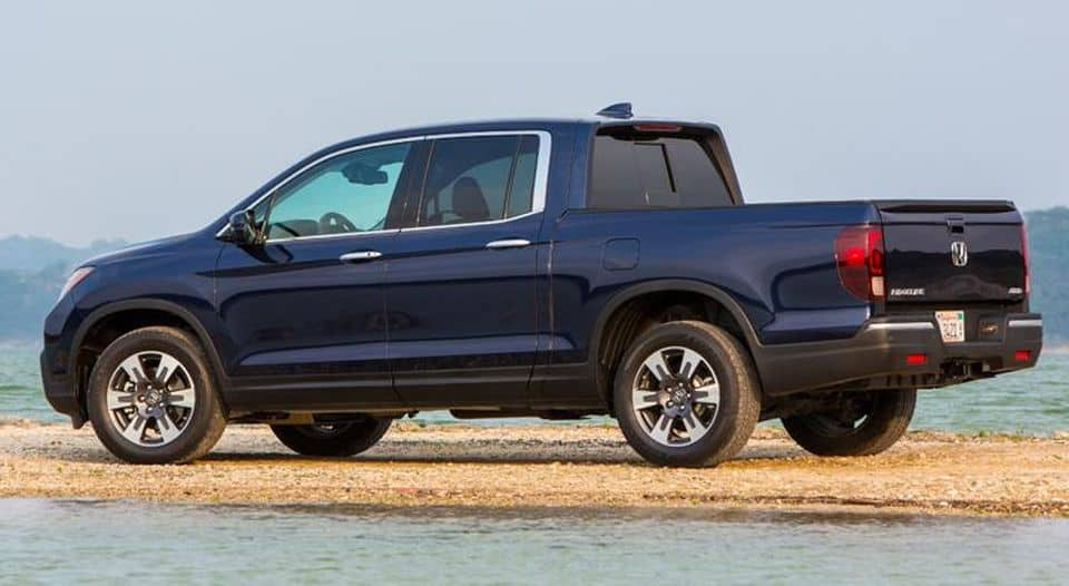 The Honda Ridgeline among three trucks on the list of top-15 vehicles reaching 200,000 miles.