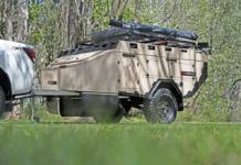 The new AOR ZR Sierra is a unique, custom-tailer cargo trailer.