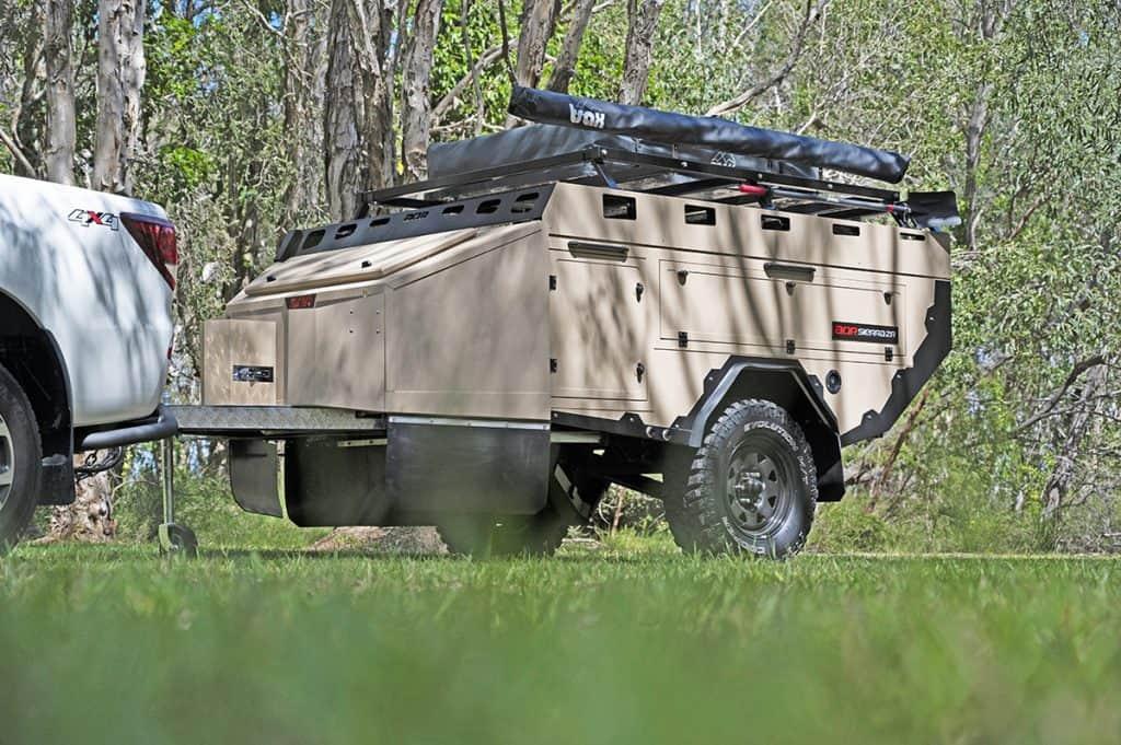 The new AOR ZR Sierra is a unique, custom-tailer cargo trailer.