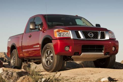 The 2015 Nissan truck is among 250,000 vehicles from Nissan being recalled for Takata airbags issues.