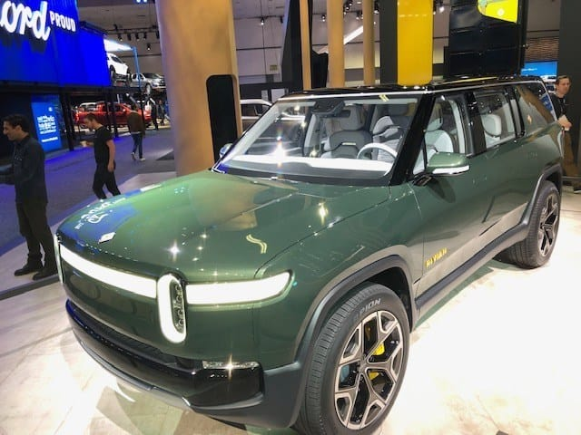 The launch of the Rivian electric pick-up truck has been delayed until 2021.