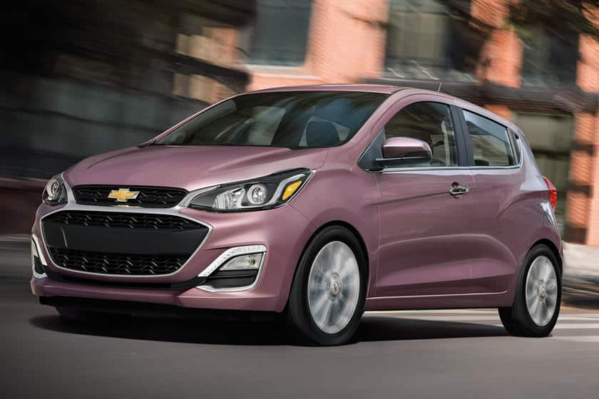 The 2020 Chevrolet Spark in the 2020 new car available in the United States.