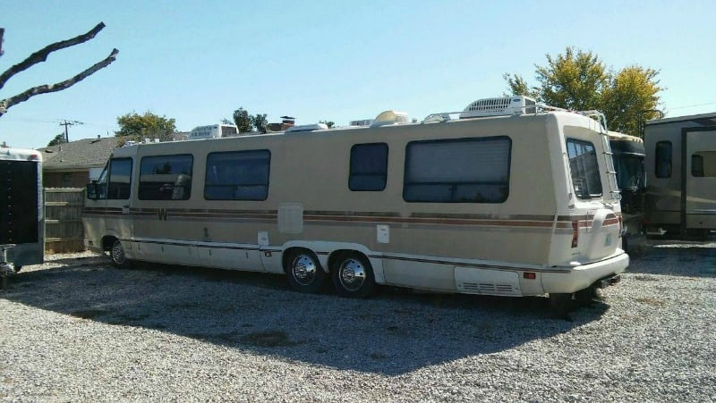 The mid-1980s motorhome in which actress Dana Plato died is up for sale by her family.