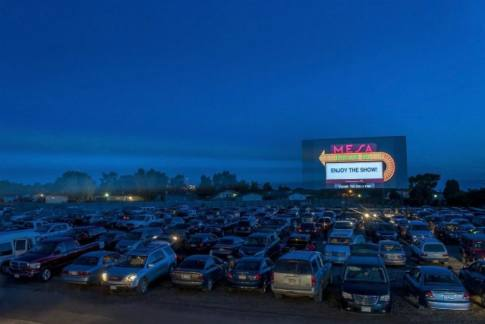 Drive-in movie theaters are experiencing another comeback during the coronavirus.