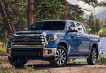 Nearly 200,000 Toyota Tundra pickup trucks are being recalled for dim headlights.