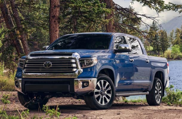 The Toyota Tundra has among the lowest five-year depreciation scores.