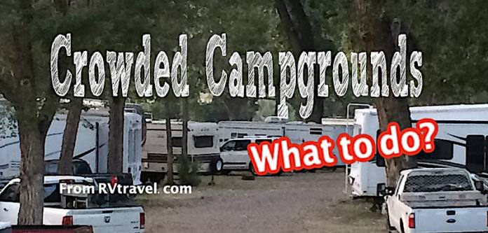 crowded campgrounds