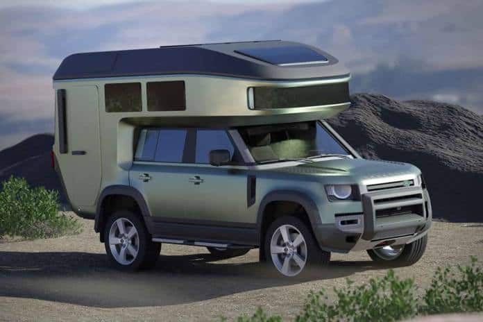 The GoehCab is tbe latest leightweight mini-RV conversion.