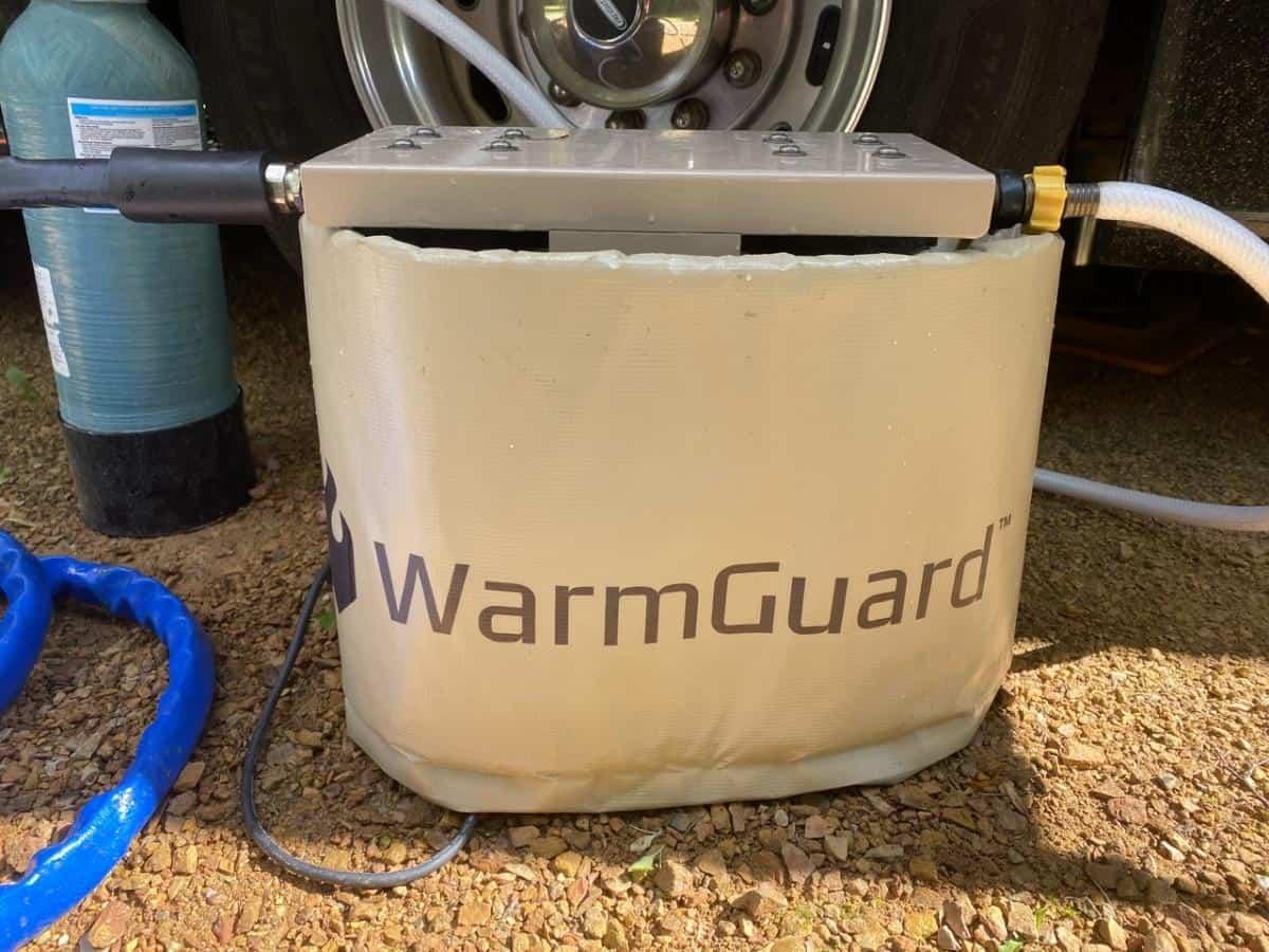 Thermal heated barrel warmer