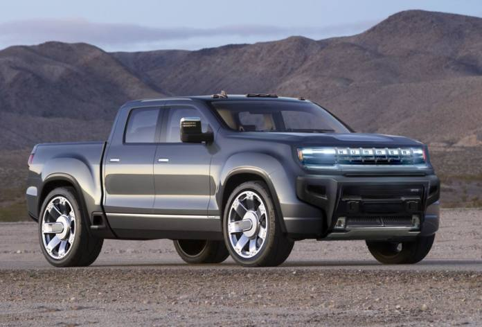 The 2022 Hummer EV will include 'Crab Mode.'