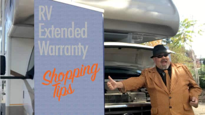 RV extended warranty shopping tips