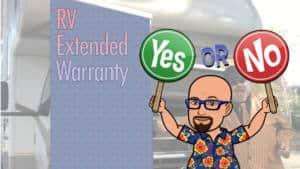 RV Extended Warranty - worth it?