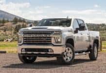 The 2021 Chevrolet 2500 has a increase towing capacity.