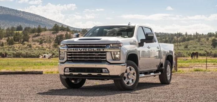 The 2021 Chevrolet 2500/3500 has an increased towing capacity.