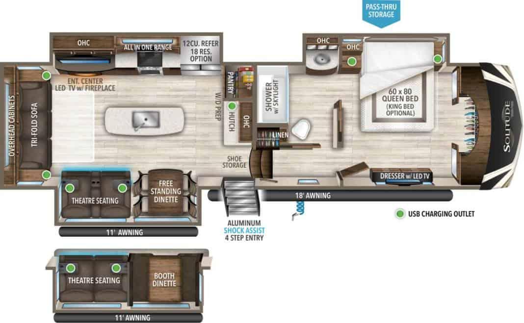 Grand Design 3540gk floor plan