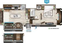 Grand Design 3540gk floor plan