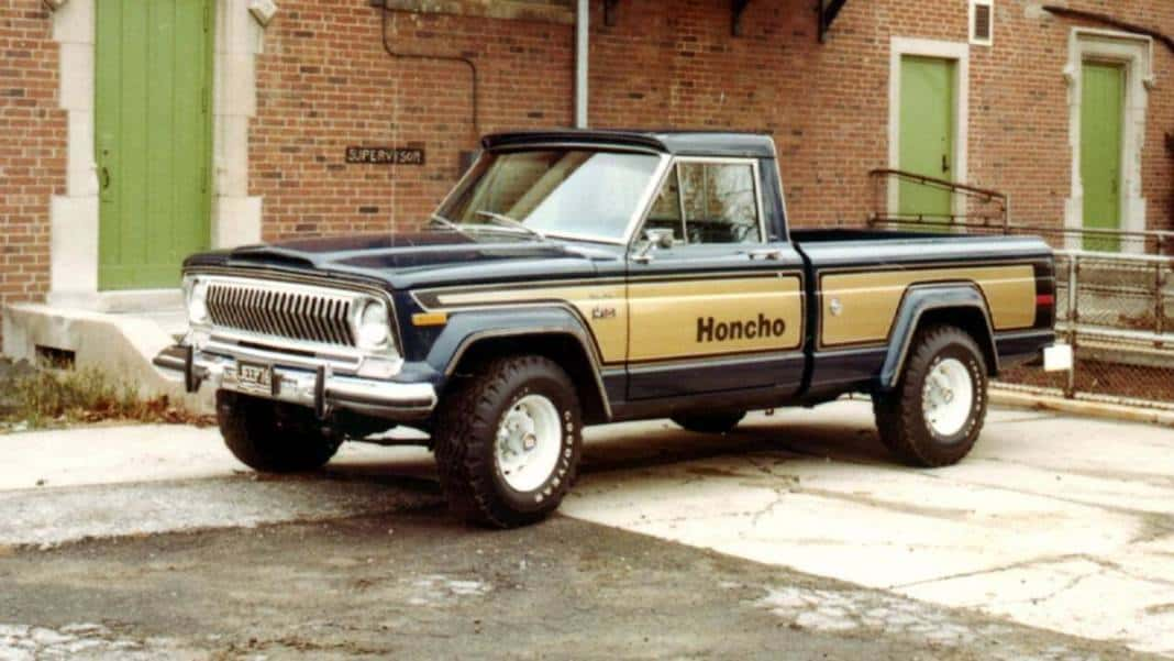 The 2020 Jeep Gladiator was cusotmized into a Jeep Honcho.