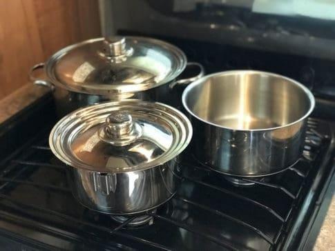RV cookware