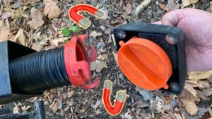 Camco magnetic sewer hose cap