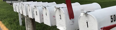 mailbox, letters