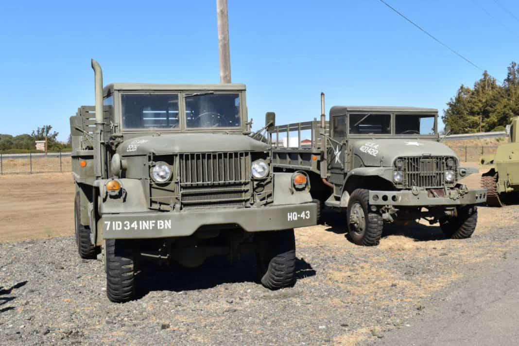 More than 60 vintage military vehicles are housed at the American Armory Museum.