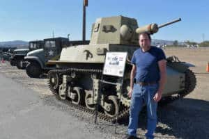 Geoff Lippman is the general manager of the American Amory Museum in Fairfield, California.