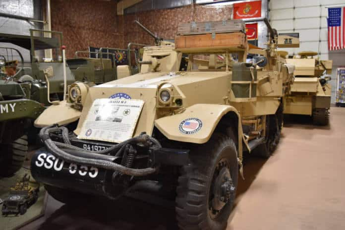 The American Armory Museum includes a 4,800 square-foot indoor museum.