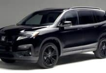 The 2020 Honda Pilot has an expensive Black Edition.