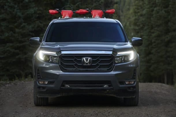 The 2021 Honda Ridgeline has a bold new exterior appearance.