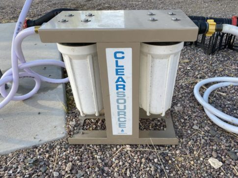 Clearsource water filter canisters