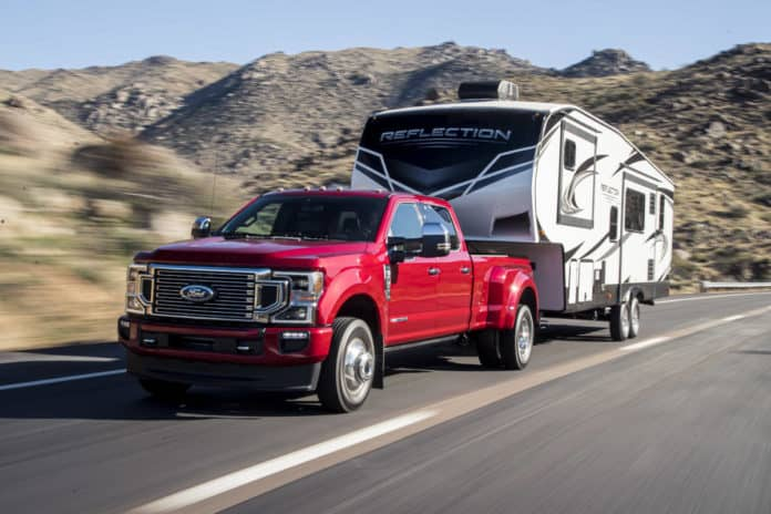 Ford Says No To Super Duty EV Trucks.