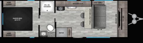 Zinger ZR259FL floorpan