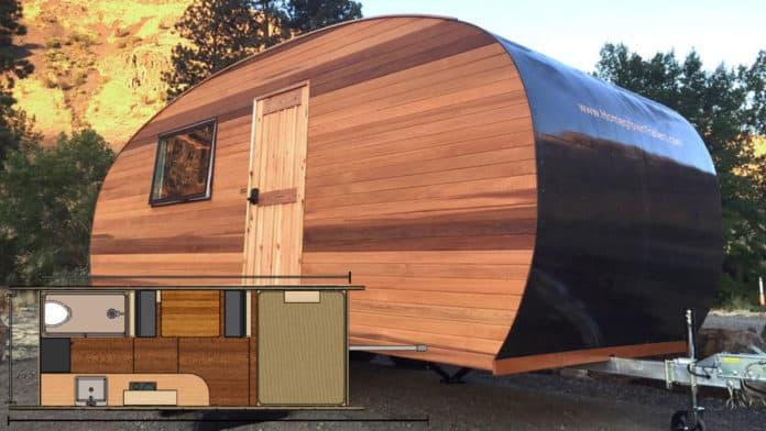 2021 Homegrown Timberline travel trailer