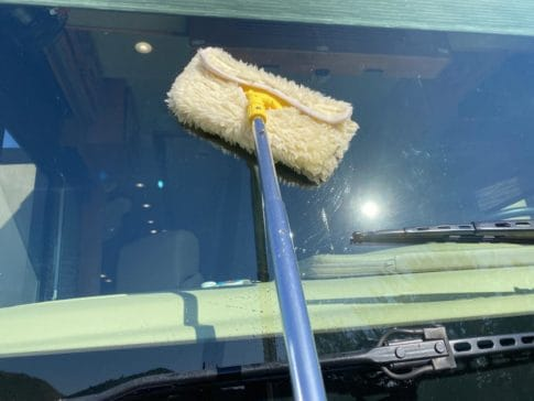 Lambswool cleaning pad