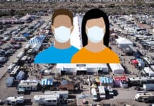 COVID at the Quartzsite RV show